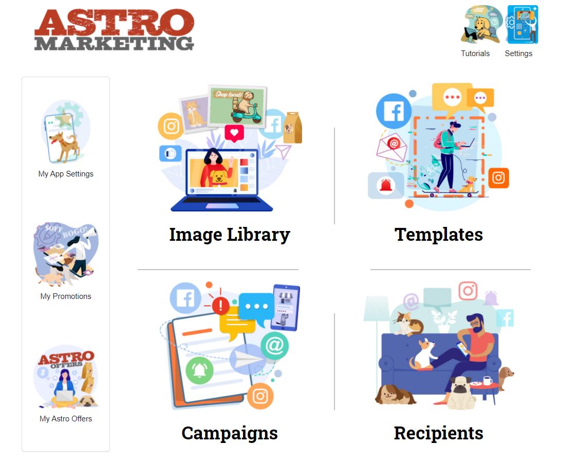 Astro Marketing Dashboard
